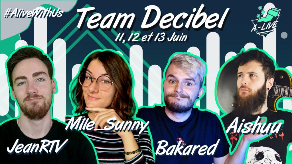 Team decibel a-live