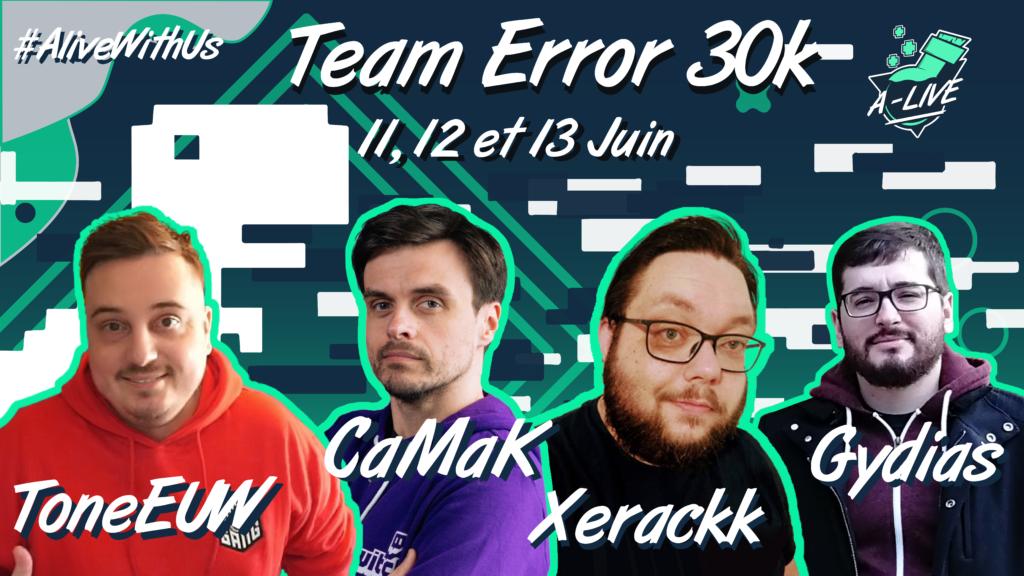 Team error30k a-live